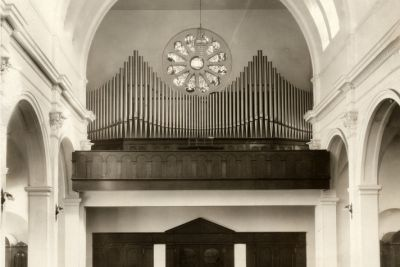 Pipe Organs Over the Years